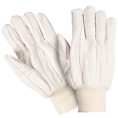 Northern Gloves Heavy Duty General Purpose Poly/Cotton Glove, Large