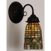 Meyda Tiffany Victorian Tiffany Acorn 1 Light Wall Sconce