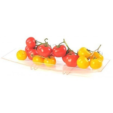Zojila Andalusia Fruit Holder and Serving Tray; Clear