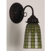 Meyda Tiffany Geometric 1 Light Wall Sconce