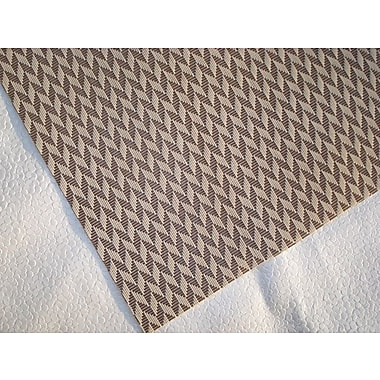 Dainty Home Geneva Placemat (Set of 4); Beige/Brown
