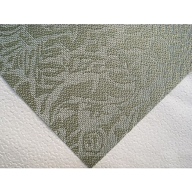 Dainty Home Floral Damask Placemat (Set of 4); Sage