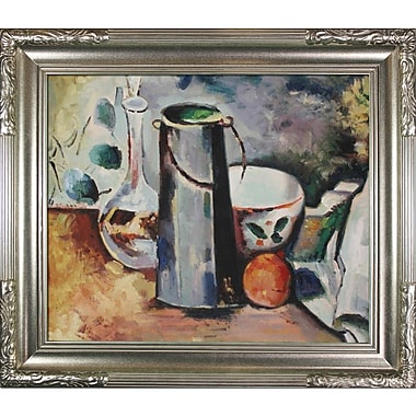 Tori Home Water Pitcher and Decanteur by Paul Cezanne Framed Painting