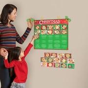 Mona Melisa Designs Winter Holidays Advent Calendar Wall Decal Set
