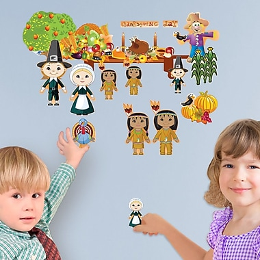 Mona Melisa Designs Fall Holidays Thanksgiving Wall Decal Set
