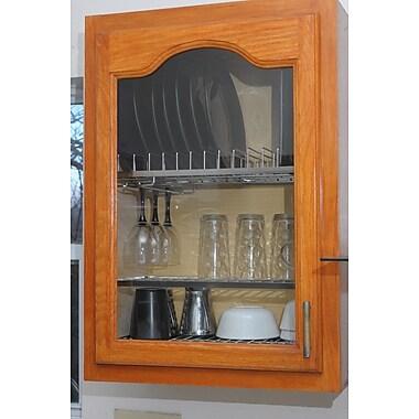 Zojila Cabana In-cabinet Dish Drying and Storage Rack