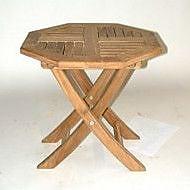 Regal Teak Folding Side Table