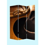 Screen Gems 72'' x 48'' Round Up 3 Panel Room Divider