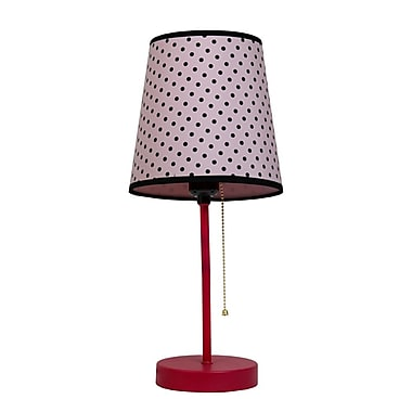All the Rages Limelights LT3000-DOT Table Lamp, Polka Dot