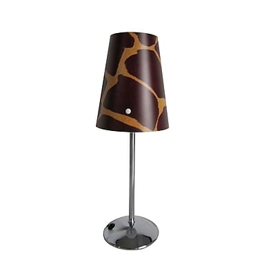 All the Rages Limelights LT3024-GRF Table Lamp Shade, Giraffe