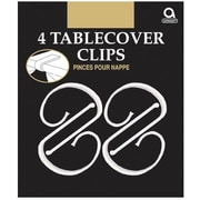 "Amscan Plastic Tablecover Clips, 2.5""L x 1.25""W, 18/Pack, 4 Per Pack (34008)"
