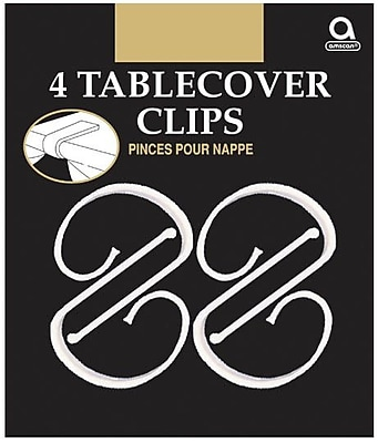 Amscan Plastic Tablecover Clips, 2.5