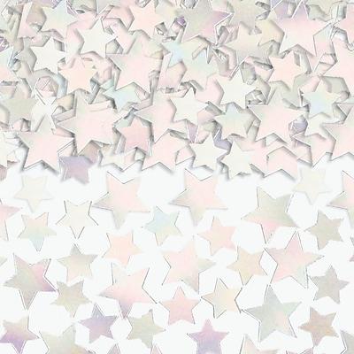 Amscan Metallic Star Confetti, 5oz, Iridescent, 2/Pack (37484.15)