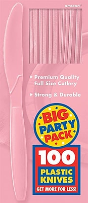 Amscan Big Party Pack Mid Weight Knives,