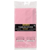 Amscan Paper Tablecover, 3-Ply, Pink, 9/Pack (57115.109)