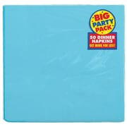 Amscan Big Party Pack Dinner Napkin, 2-Ply, Carribbean, 6/Pack, 50 Per Pack (62215.54)