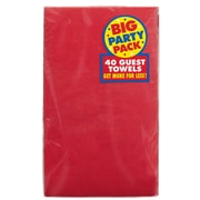 Amscan Big Party Pack Guest Towel, 2-Ply, Robins Egg Blue, 6/Pack, 40 Per Pack