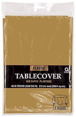 Amscan Plastic Table Cover, 84