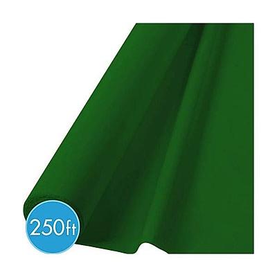 Amscan Jumbo Plastic Tableroll, Green (77021.03)