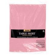 "Amscan Plastic Tableskirt, 14' x 29"", Pink, 4/Pack (77025.109)"