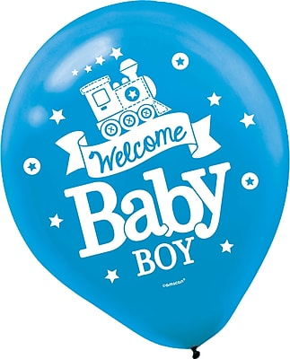 Amscan Welcome Little One Baby Shower Boy