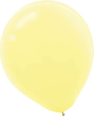 Amscan Solid Pastel Latex Balloons, 12'', 4/Pack, Assorted, 72 Per Pack (113100.99)