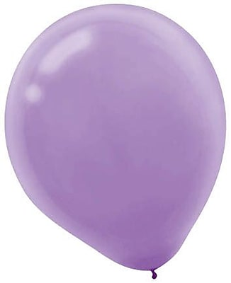 Amscan Solid Color Packaged Latex Balloons, 12