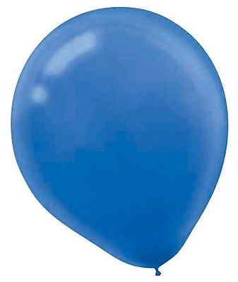 Amscan Solid Color Packaged Latex Balloons, 12'',