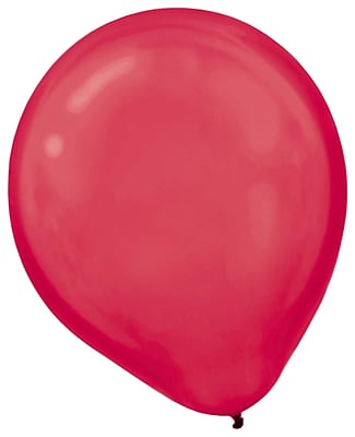 Amscan Pearlized Packaged Latex Balloons, 12