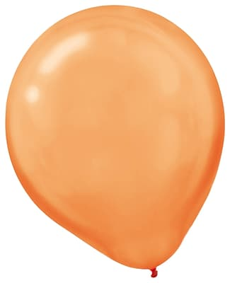 Amscan Pearlized Latex Balloons Packaged, 12'', 16/Pack, Assorted, 15 Per Pack (113253.99)