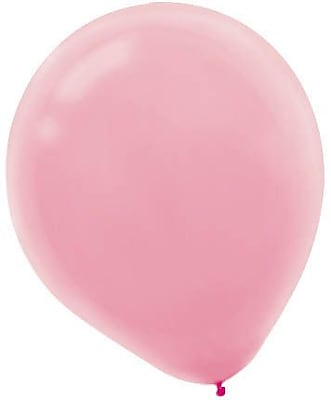Amscan Packaged Solid Color Latex Balloons, 9'', Assorted Colors, 18/Pack, 20 Per Pack (113255.99)