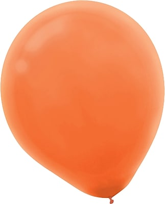 Amscan Solid Color Latex Balloons Packaged, 5'', 6/Pack, Assorted, 50 Per Pack (115920.99)