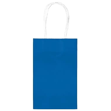 Amscan Cub Bags Value Pack, Bright Royal Blue, 4/Pack, 10 Per Pack (162500.105)