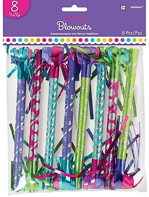 """""Amscan Purple and Teal Blowout Fringe, 17.5"""""""", 9/Pack, 8 Per Pack (330027)"""""" 1971185"