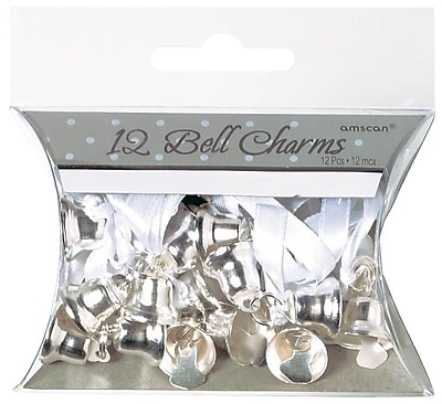 Amscan Double Bell Charms, 0.5