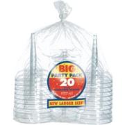 Amscan Clear Margarita Glasses, 2/Pack, 20 Per Pack (350102.86)