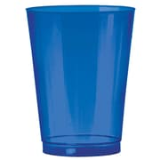 Amscan Big Party Pack 10oz Bright Royal Blue Plastic Cups, 2/Pack, 72 Per Pack (350363.105)