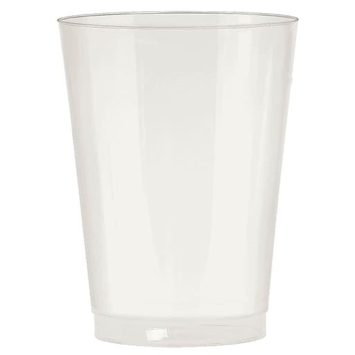 Amscan Big Party Pack 10oz Pearl Plastic Cups, 2/Pack, 72 Per Pack (350363.128)
