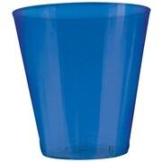 Amscan 2oz Bright Royal Blue Big Party Pack Plastic Shot Glasses, 3/Pack, 100 Per Pack (357918.105)