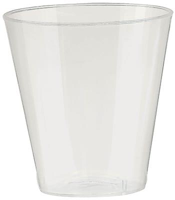 Amscan Big Party Pack 2oz Pearl Plastic Shot Glasses, 3/Pack, 100 Per Pack (357918.128)