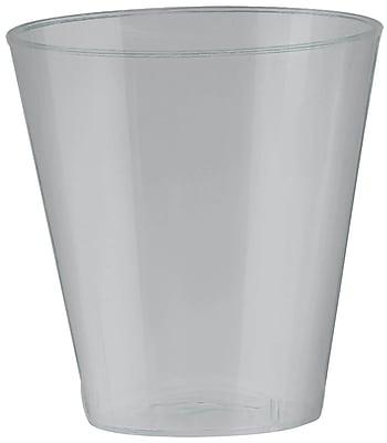 Amscan 2oz Silver Big Party Pack Plastic Shot Glasses, 3/Pack, 100 Per Pack (357918.18)