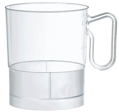 Amscan 8oz Clear Plastic Coffee Cups, 2/Pack, 20 Per Pack (359630.86)