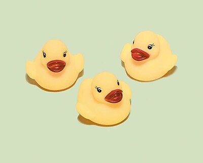 Amscan Rubber Ducky, 2'', 9/Pack, 3 Per Pack (382325)