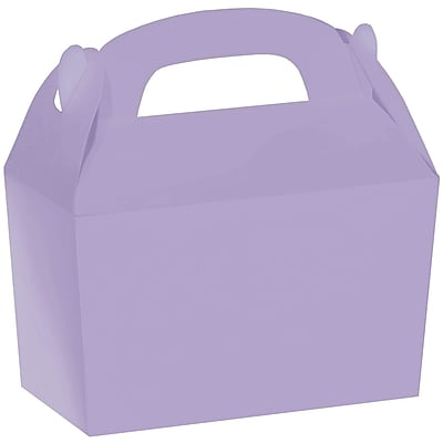 Amscan Gable Boxes, 5.5''H x 2.38''W x