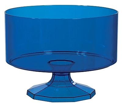 Amscan Small Trifle Container, Royal Blue, 9/Pack (437841.105)