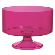 Amscan Trifle Container, Medium, Bright Pink , 4/Pack (437842.103)
