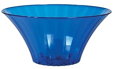 Amscan Medium Flared Bowl, Royal Blue, 12/Pack (437881.105)