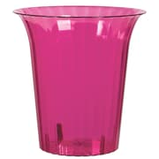 Amscan Flared Cylinder Medium, Bright Pink, 12/Pack (437884.103)