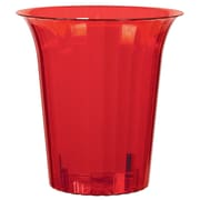 Amscan Flared Cylinder Medium, Red, 12/Pack (437884.4)