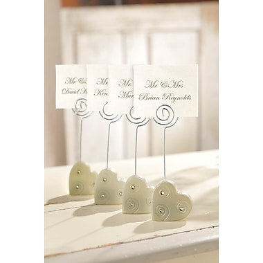 Amscan Heart Place Card Holders, 4.25